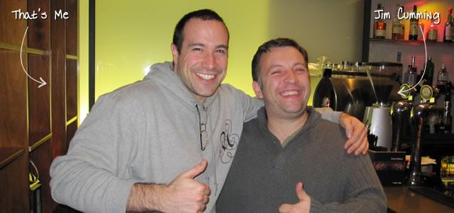 Ben Nadel at Scotch On The Rocks (SOTR) 2011 (Edinburgh) with: Jim Cumming