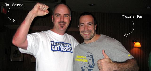 Ben Nadel at CFUNITED 2009 (Lansdowne, VA) with: Jim Priest