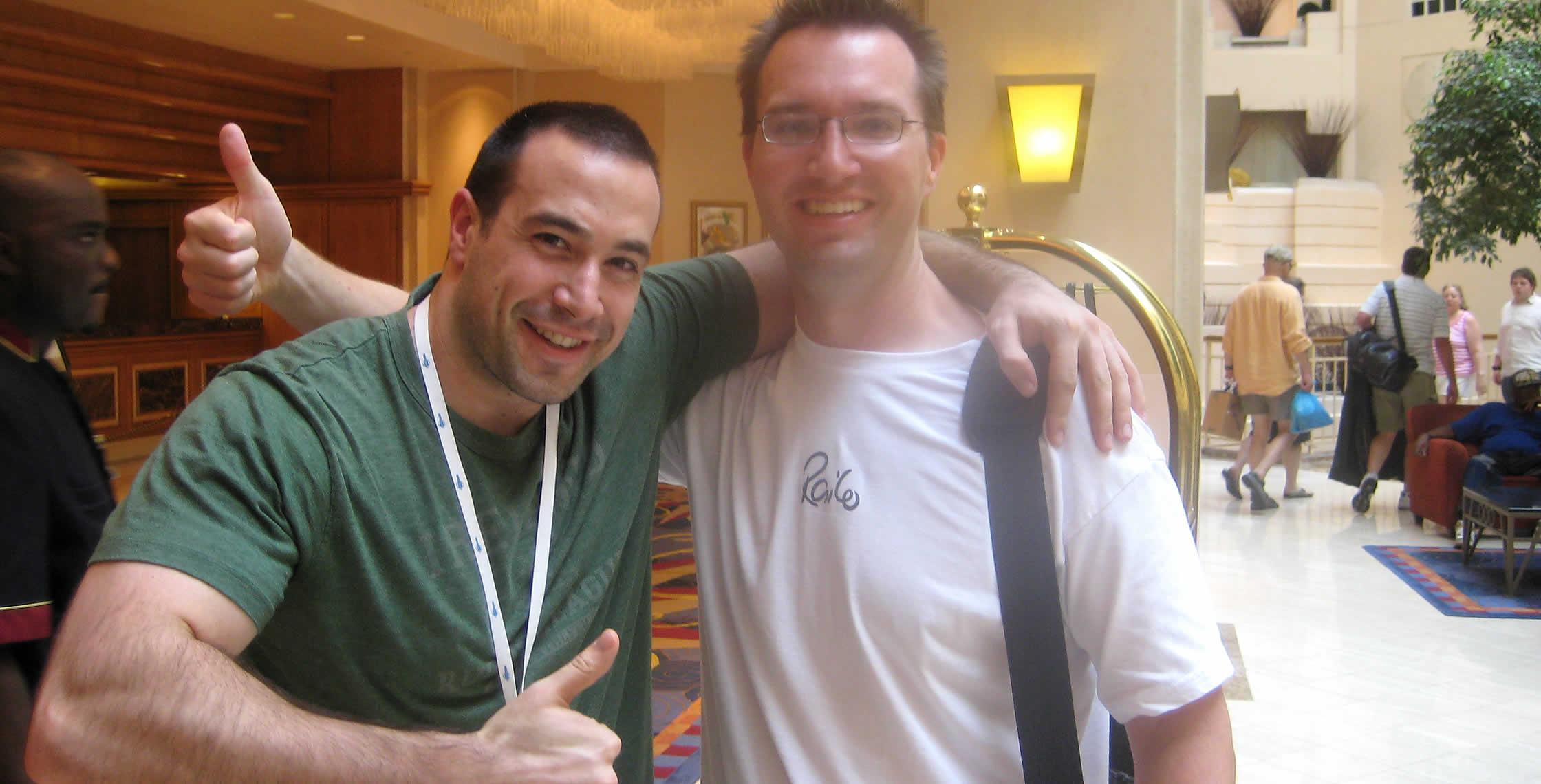 Ben Nadel at CFUNITED 2008 (Washington, D.C.) with: Joe Rinehart