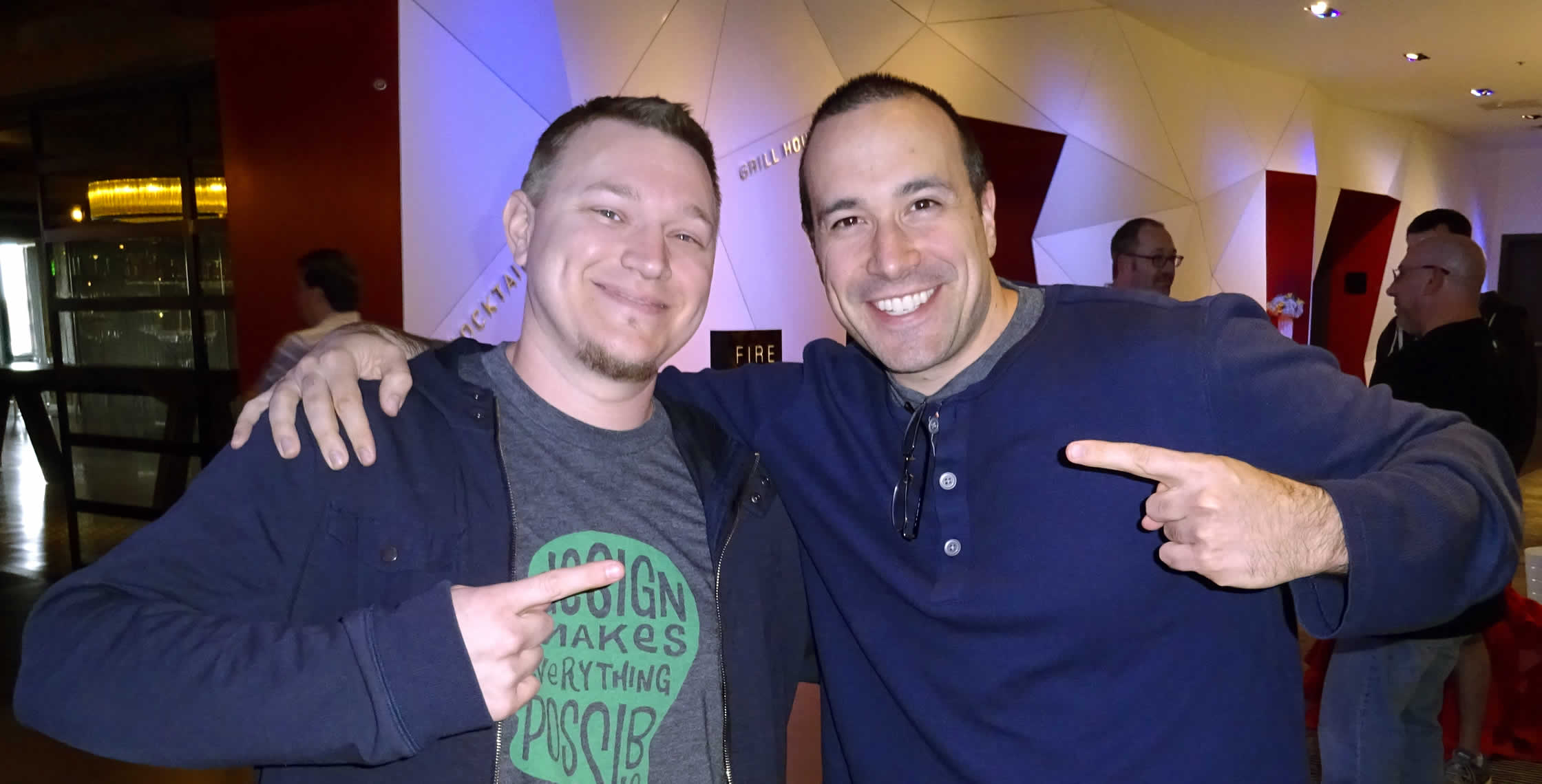 Ben Nadel at cf.Objective() 2014 (Bloomington, MN) with: Joel Hill