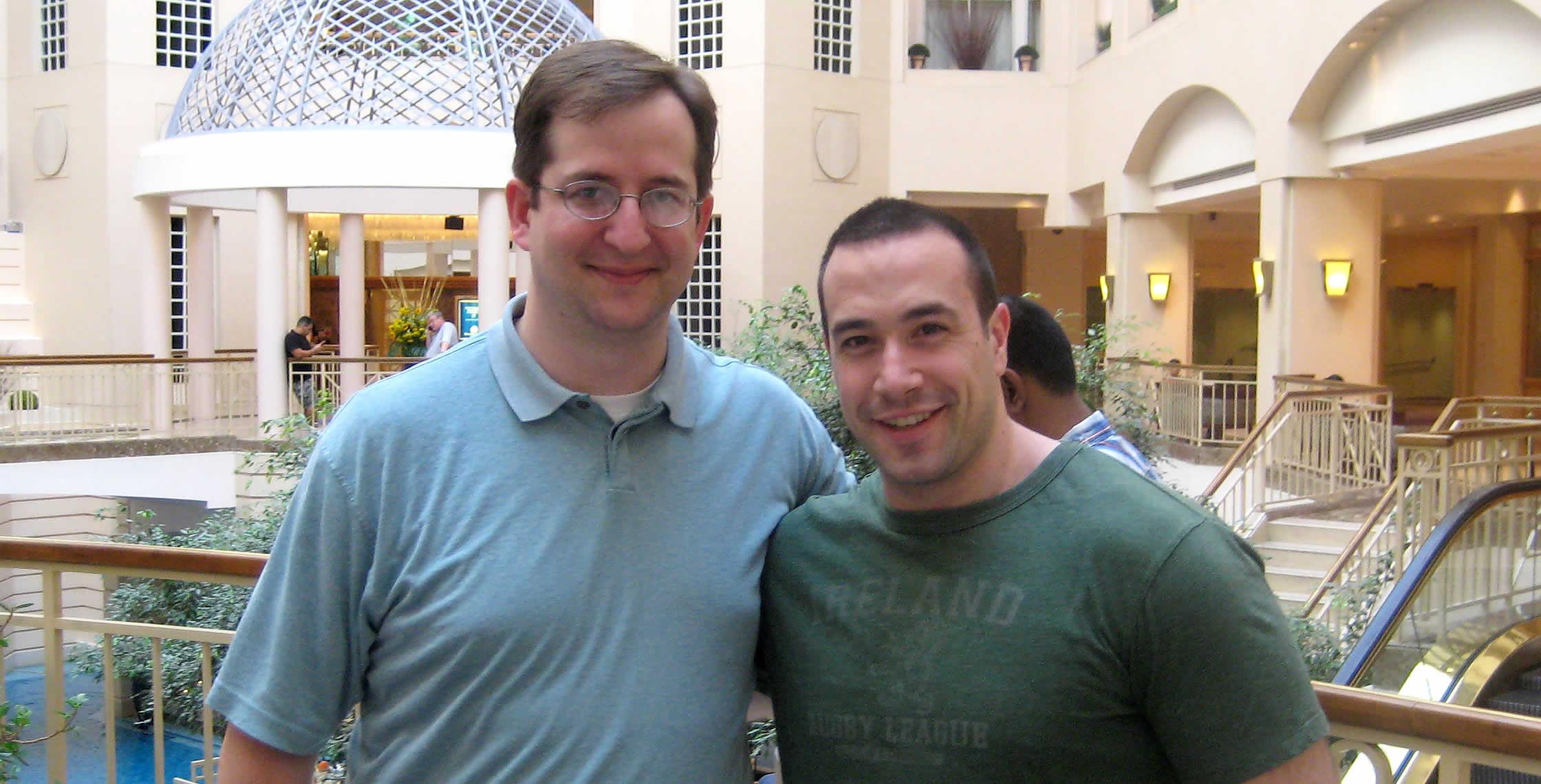 Ben Nadel at CFUNITED 2008 (Washington, D.C.) with: John Mason