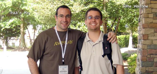 Ben Nadel at CFUNITED 2009 (Lansdowne, VA) with: John Watson