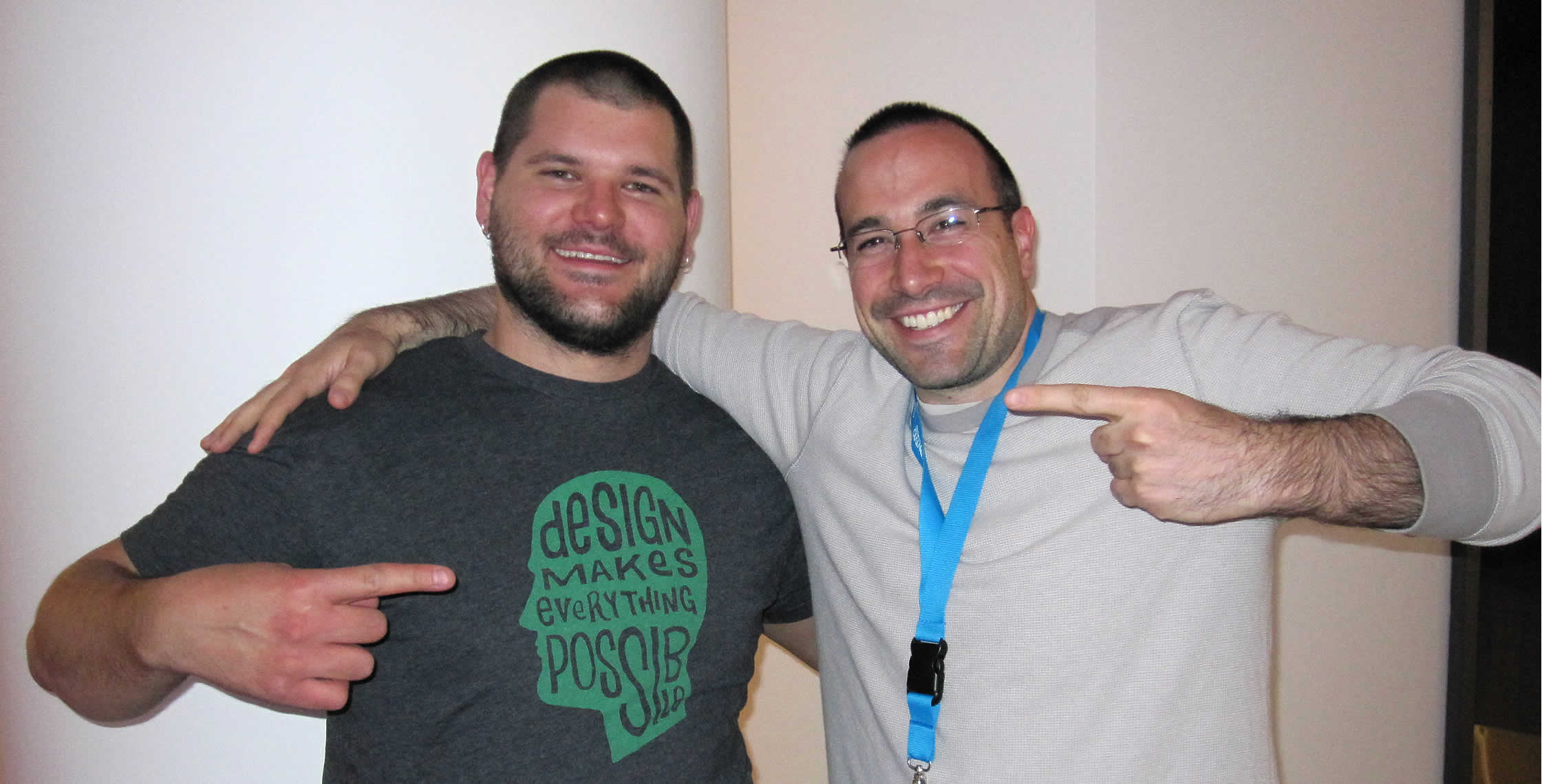 Ben Nadel at cf.Objective() 2013 (Bloomington, MN) with: Josh Siok