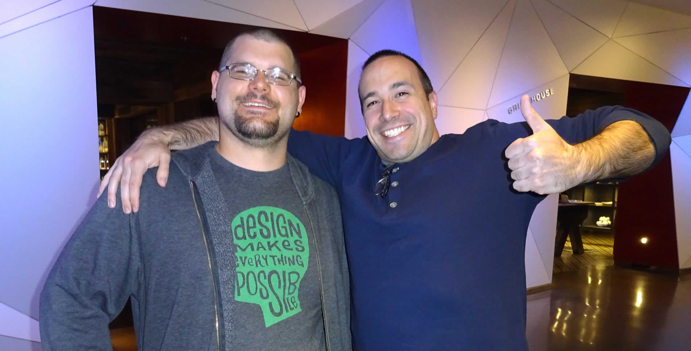 Ben Nadel at cf.Objective() 2014 (Bloomington, MN) with: Josh Siok