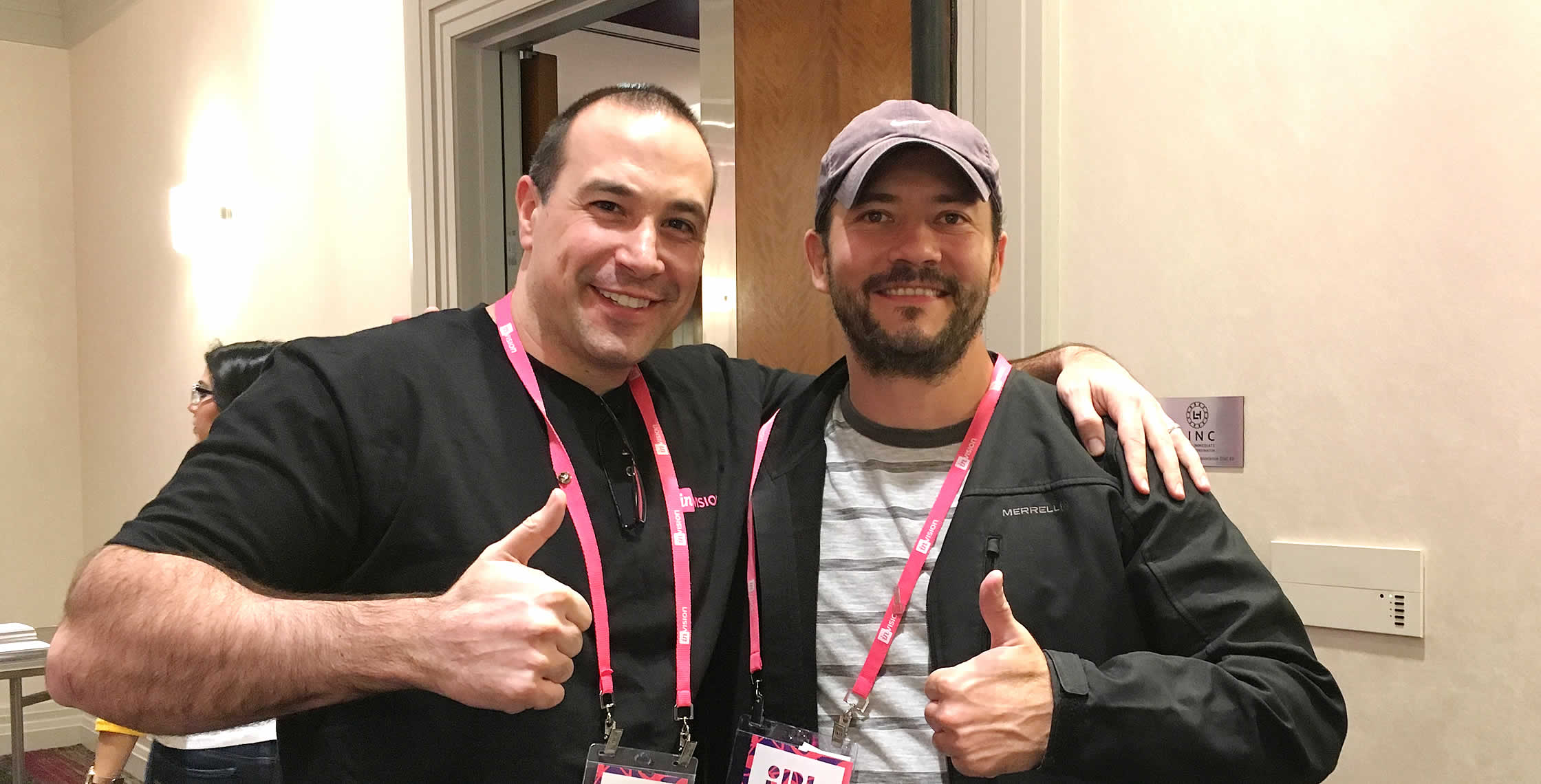 Ben Nadel at InVision In Real Life (IRL) 2018 (Hollywood, CA) with: Juan Agustín Moyano