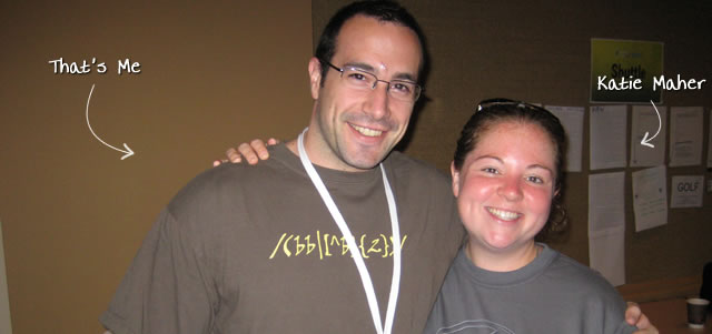 Ben Nadel at CFUNITED 2009 (Lansdowne, VA) with: Katie Maher