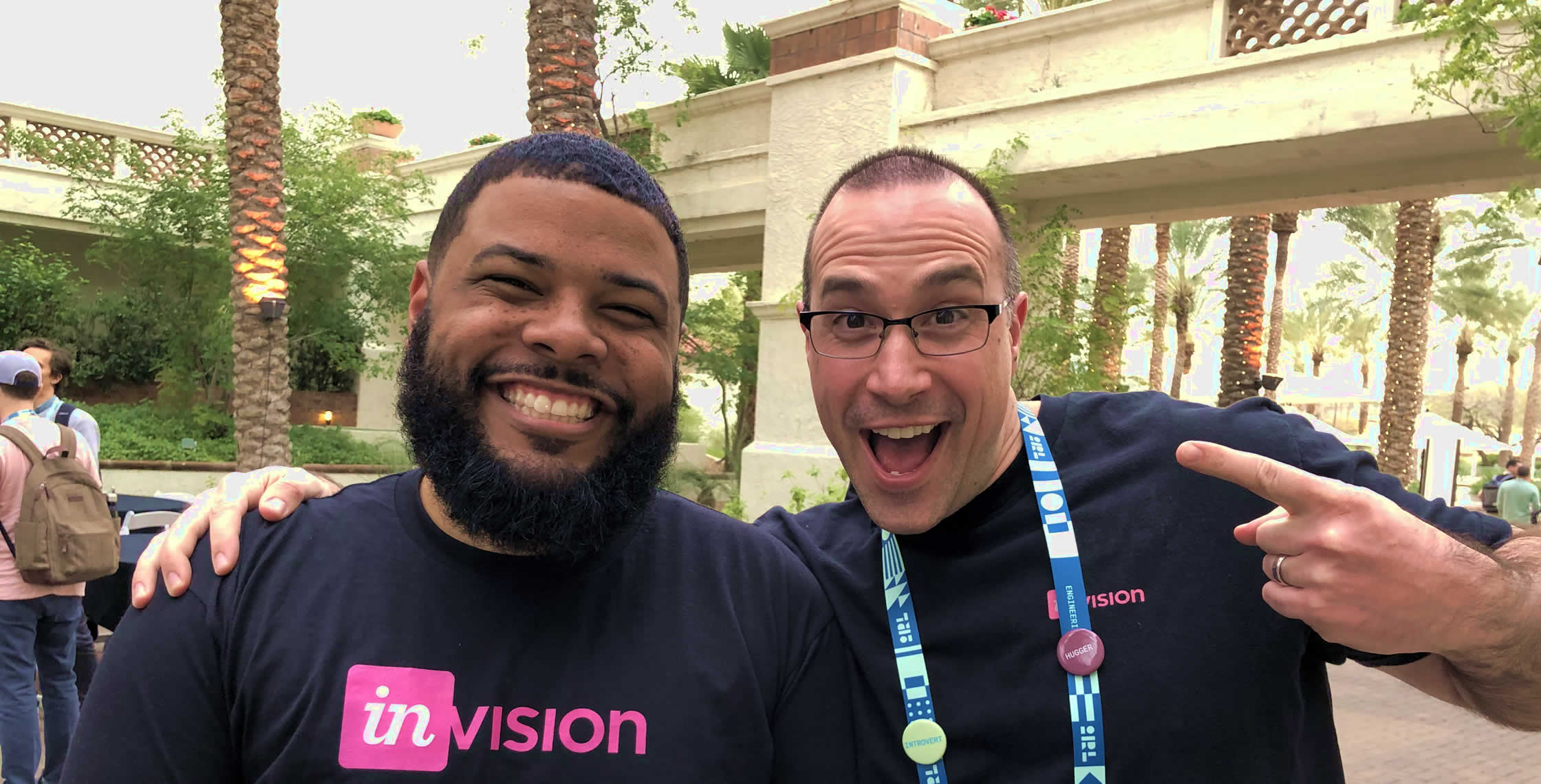 Ben Nadel at InVision In Real Life (IRL) 2019 (Phoenix, AZ) with: Kenny Bundy