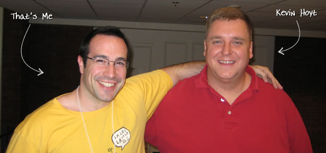 Ben Nadel at RIA Unleashed (Nov. 2009) with: Kevin Hoyt