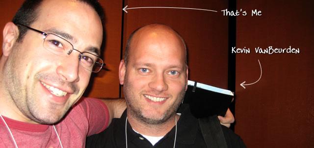 Ben Nadel at cf.Objective() 2009 (Minneapolis, MN) with: Kevin VanBeurden