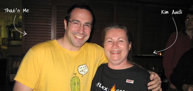 Ben Nadel at RIA Unleashed (Nov. 2009) with: Kim Andi