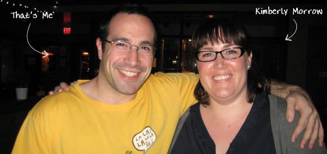 Ben Nadel at RIA Unleashed (Nov. 2009) with: Kimberly Morrow