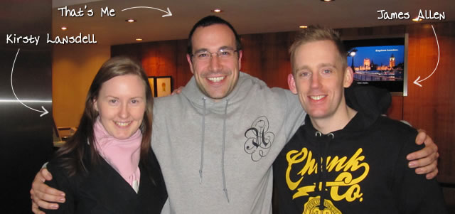 Ben Nadel at Scotch On The Rocks (SOTR) 2011 (Edinburgh) with: Kirsty Lansdell and James Allen