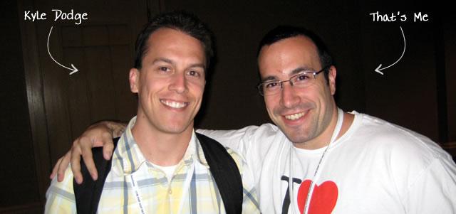 Ben Nadel at CFUNITED 2009 (Lansdowne, VA) with: Kyle Dodge