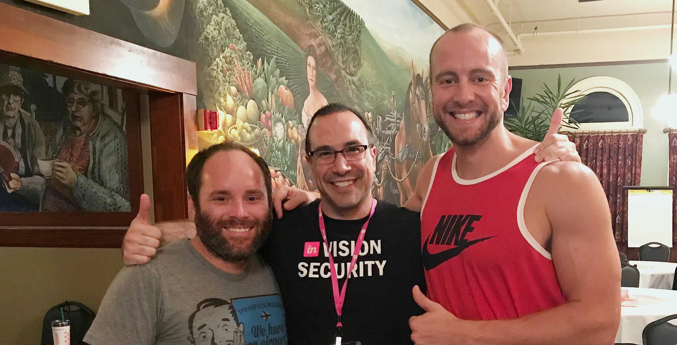 Ben Nadel at Endless Sunshine 2017 (Portland, OR) with: Landon Lewis and Brian Blocker