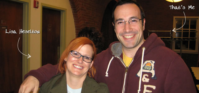 Ben Nadel at RIA Unleashed (Nov. 2009) with: Lisa Heselton