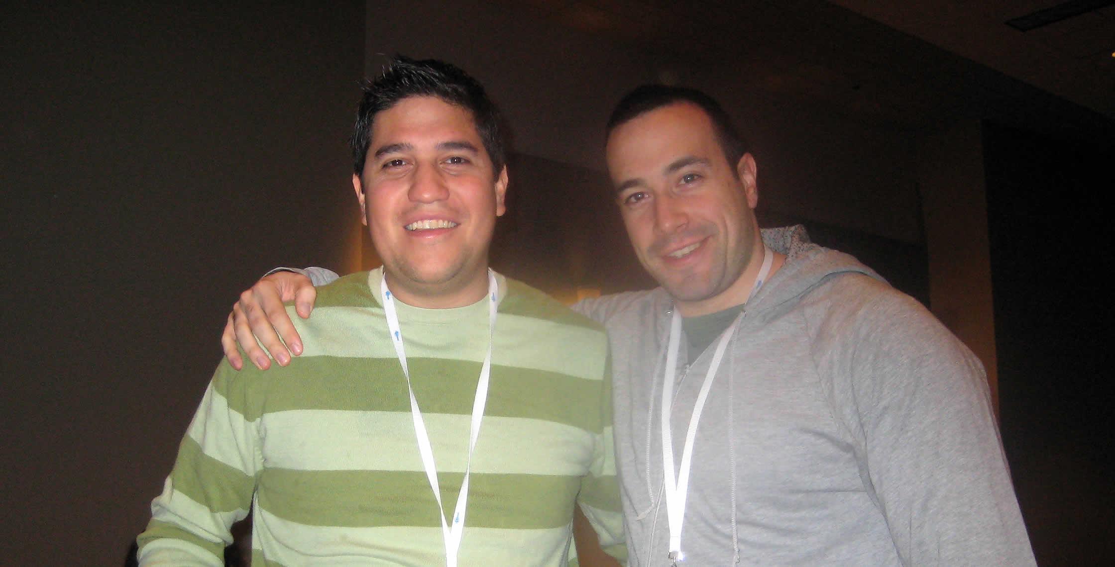Ben Nadel at CFUNITED 2008 (Washington, D.C.) with: Luis Majano