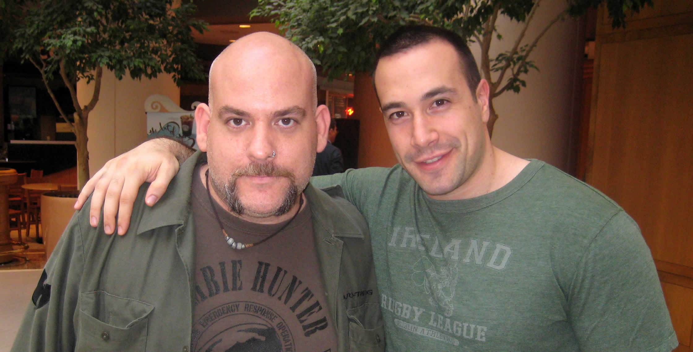 Ben Nadel at CFUNITED 2008 (Washington, D.C.) with: Mark Drew