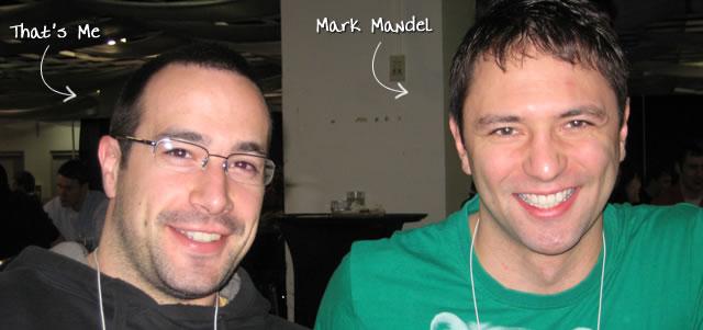Ben Nadel at cf.Objective() 2009 (Minneapolis, MN) with: Mark Mandel