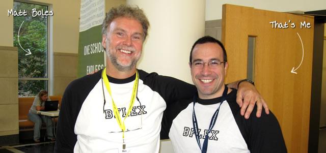 Ben Nadel at BFusion / BFLEX 2010 (Bloomington, Indiana) with: Matt Boles