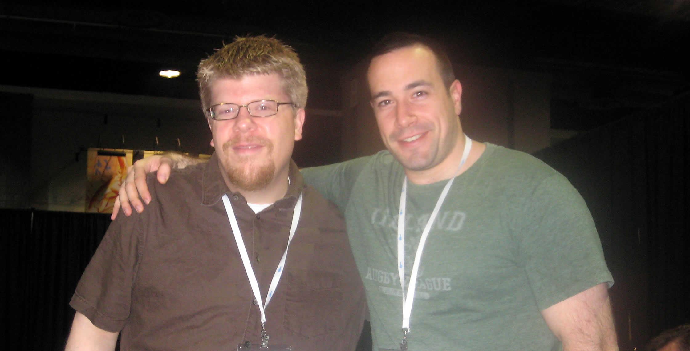 Ben Nadel at CFUNITED 2008 (Washington, D.C.) with: Matt Woodward