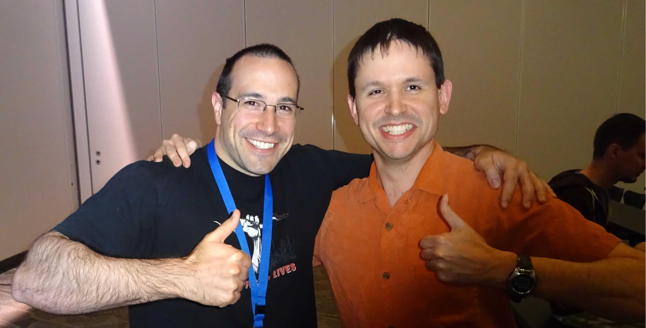 Ben Nadel at cf.Objective() 2014 (Bloomington, MN) with: Matthew Orstad