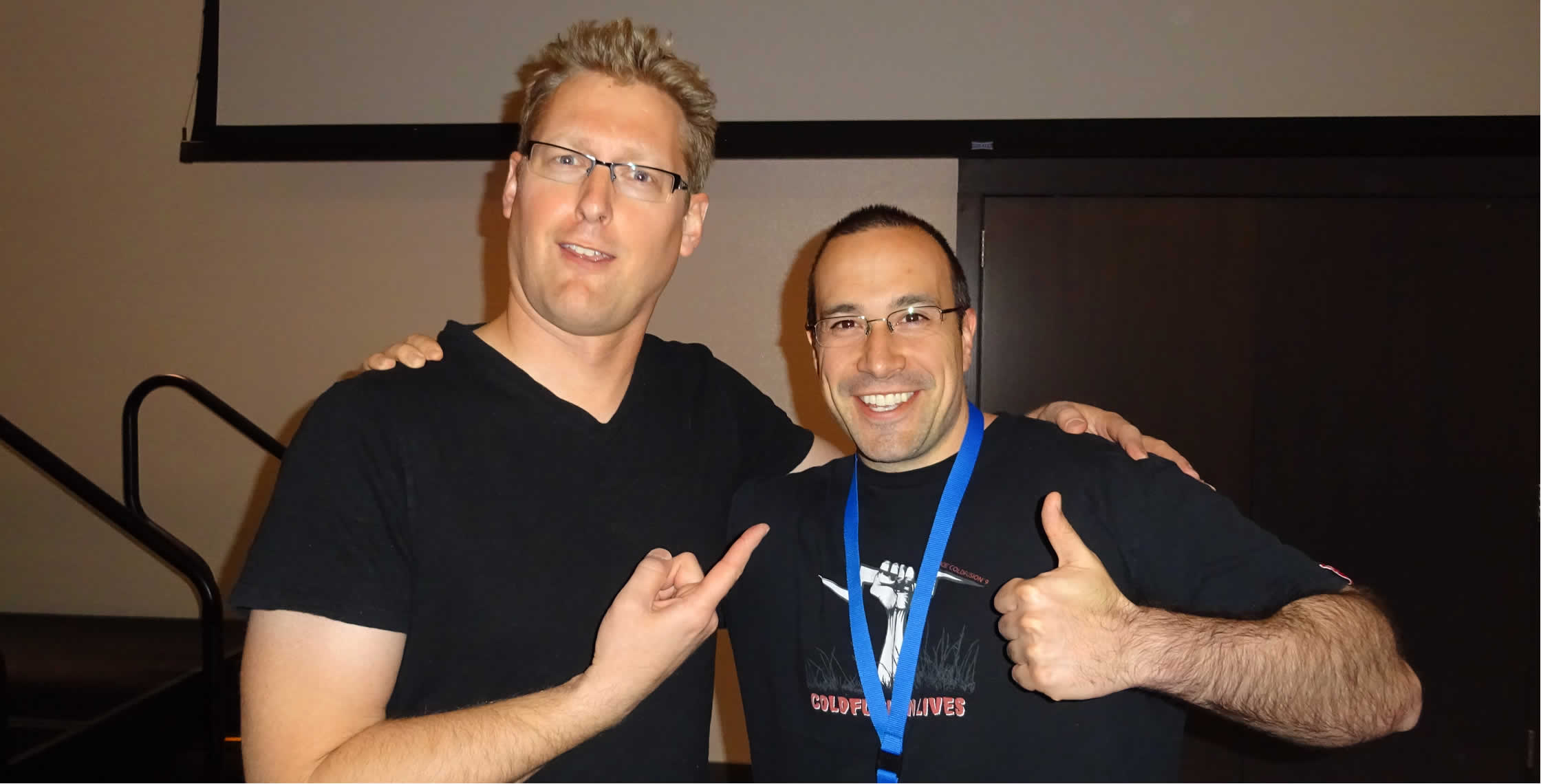 Ben Nadel at cf.Objective() 2014 (Bloomington, MN) with: Matthew Reinbold