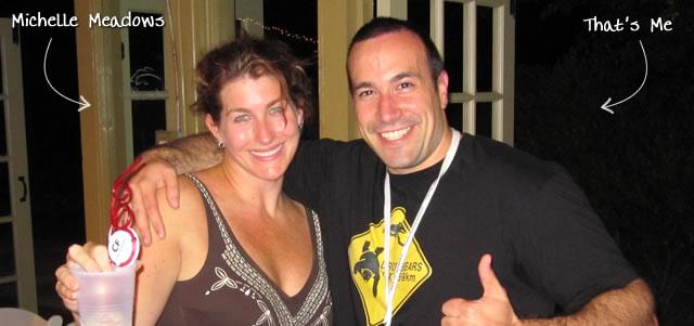 Ben Nadel at CFUNITED 2010 (Landsdown, VA) with: Michelle Meadows