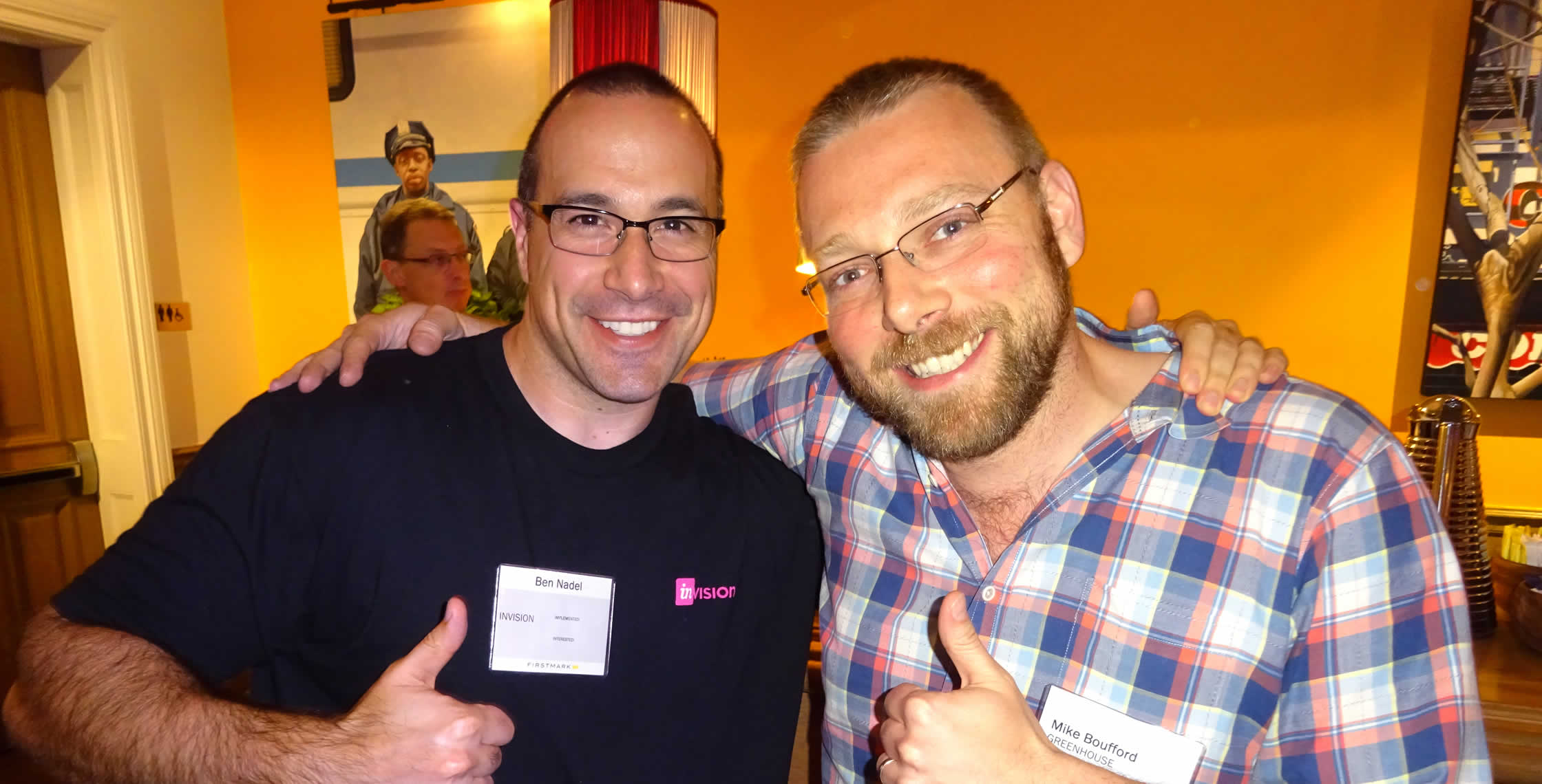 Ben Nadel at FirstMark Tech Summit (New York, NY) with: Mike Boufford