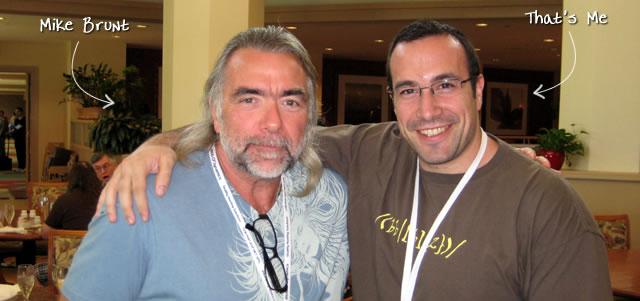 Ben Nadel at CFUNITED 2009 (Lansdowne, VA) with: Mike Brunt