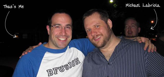 Ben Nadel at BFusion / BFLEX 2010 (Bloomington, Indiana) with: Michael Labriola