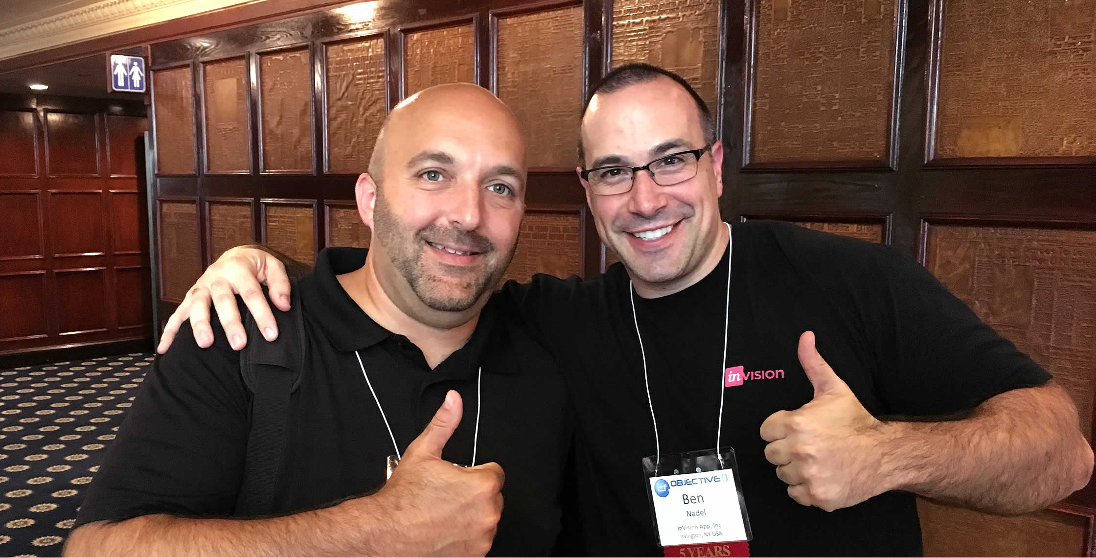 Ben Nadel at cf.Objective() 2017 (Washington, D.C.) with: Mike Sprague