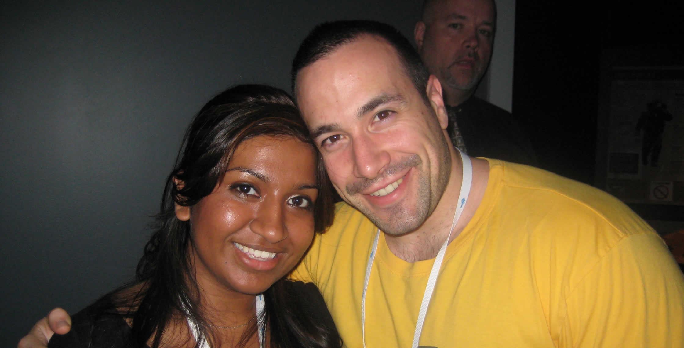Ben Nadel at CFUNITED 2008 (Washington, D.C.) with: Nafisa Sabu