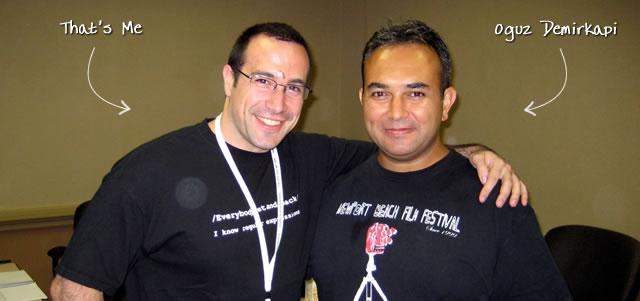 Ben Nadel at CFUNITED 2009 (Lansdowne, VA) with: Oguz Demirkapi