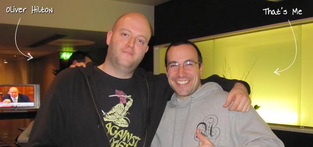 Ben Nadel at Scotch On The Rocks (SOTR) 2011 (Edinburgh) with: Oliver Hilton