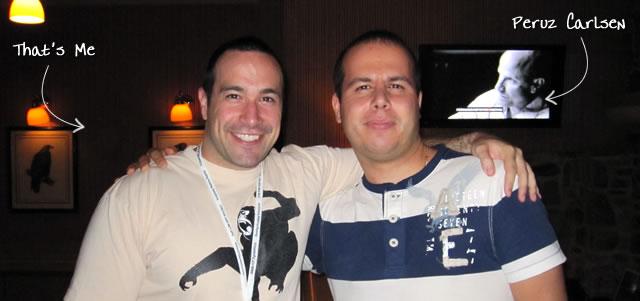 Ben Nadel at CFUNITED 2010 (Landsdown, VA) with: Peruz Carlsen