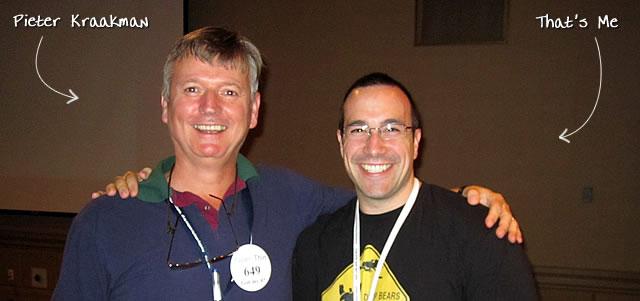 Ben Nadel at CFUNITED 2010 (Landsdown, VA) with: Pieter Kraakman