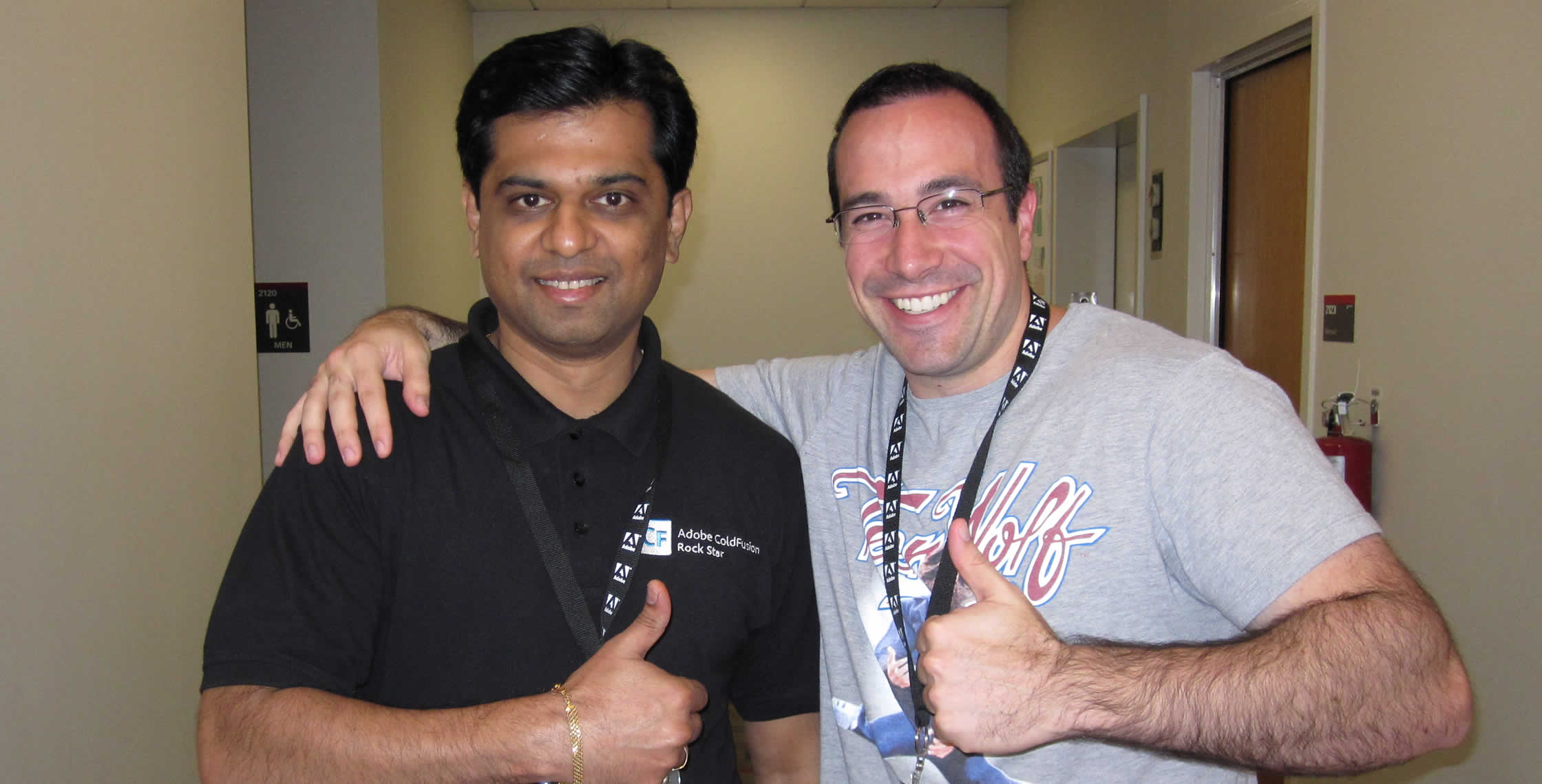 Ben Nadel at NCDevCon 2011 (Raleigh, NC) with: Ramchandra Kulkarni