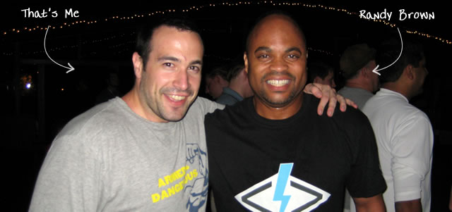 Ben Nadel at CFUNITED 2009 (Lansdowne, VA) with: Randy Brown