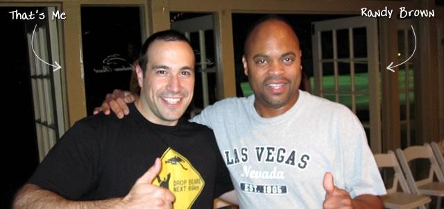 Ben Nadel at CFUNITED 2010 (Landsdown, VA) with: Randy Brown