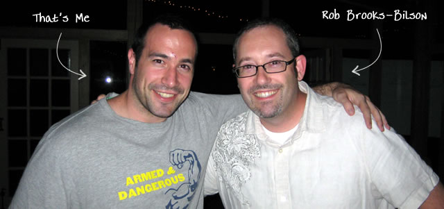 Ben Nadel at CFUNITED 2009 (Lansdowne, VA) with: Rob Brooks-Bilson