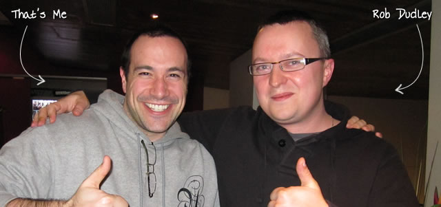 Ben Nadel at Scotch On The Rocks (SOTR) 2011 (Edinburgh) with: Rob Dudley