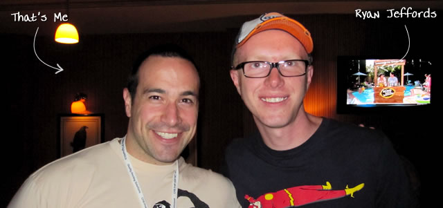 Ben Nadel at CFUNITED 2010 (Landsdown, VA) with: Ryan Jeffords
