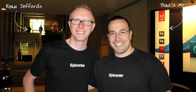 Ben Nadel at CFUNITED 2010 (Landsdown, VA) with: Ryan Jeffords
