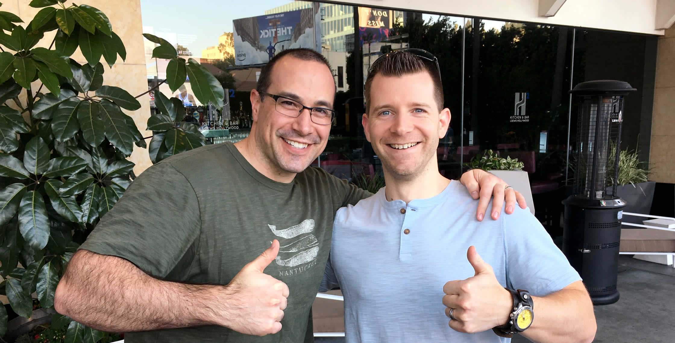 Ben Nadel at InVision In Real Life (IRL) 2018 (Hollywood, CA) with: Ryan Scheuermann