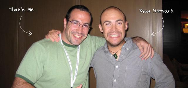 Ben Nadel at CFUNITED 2009 (Lansdowne, VA) with: Ryan Stewart