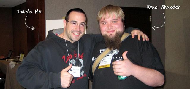 Ben Nadel at cf.Objective() 2009 (Minneapolis, MN) with: Ryan Vikander