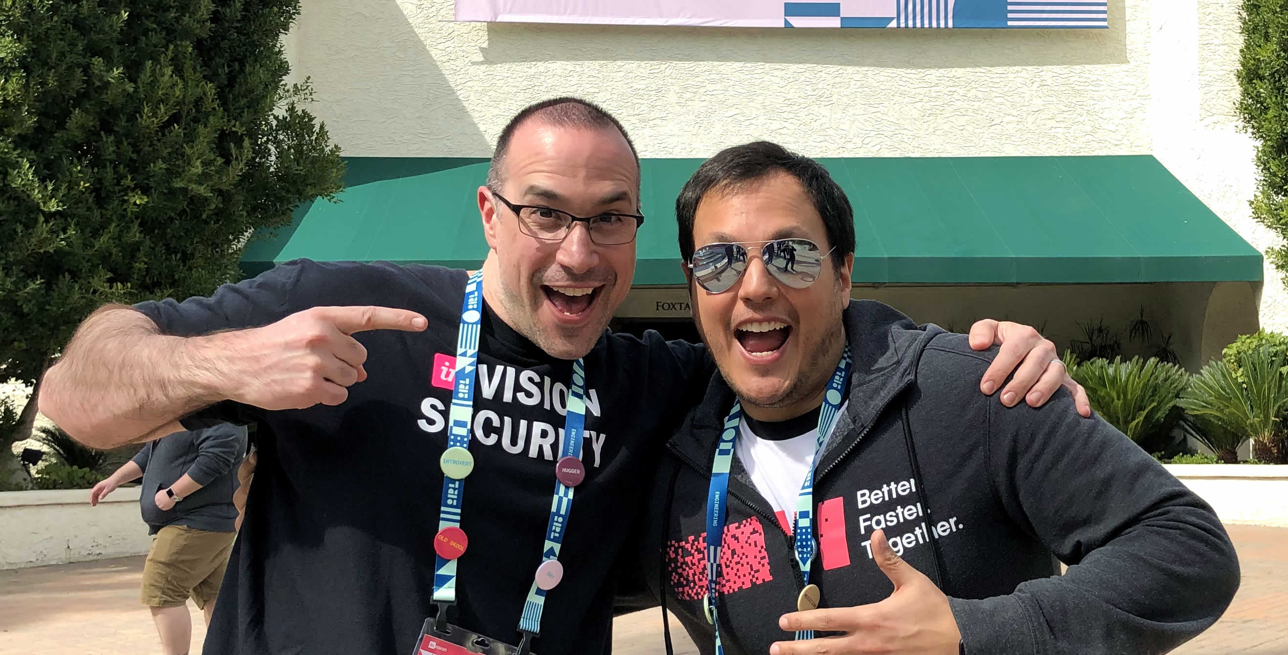 Ben Nadel at InVision In Real Life (IRL) 2019 (Phoenix, AZ) with: Salvatore D'Agostino
