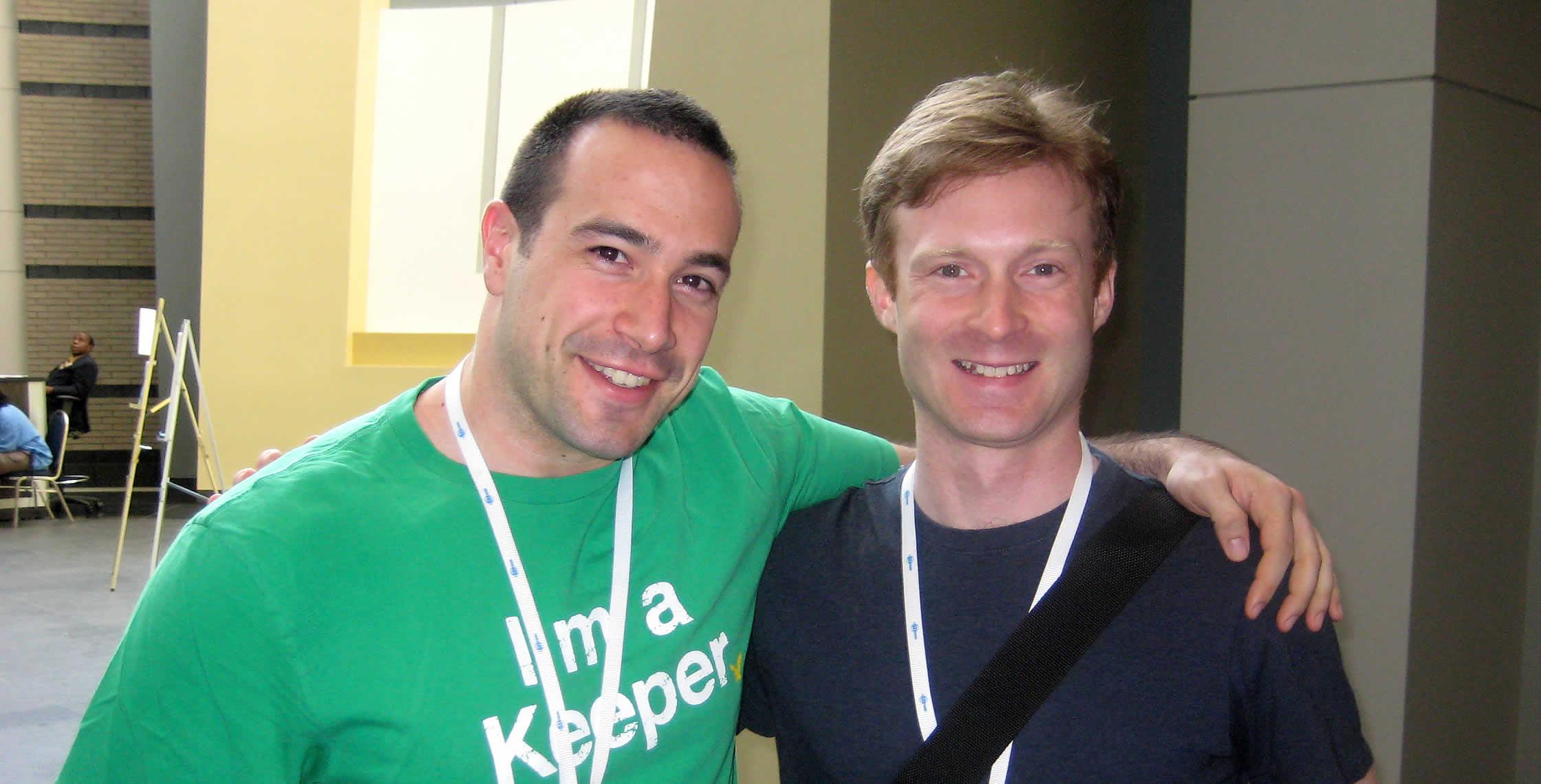 Ben Nadel at CFUNITED 2008 (Washington, D.C.) with: Sam Farmer
