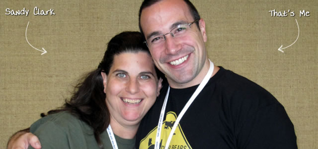 Ben Nadel at CFUNITED 2010 (Landsdown, VA) with: Sandy Clark