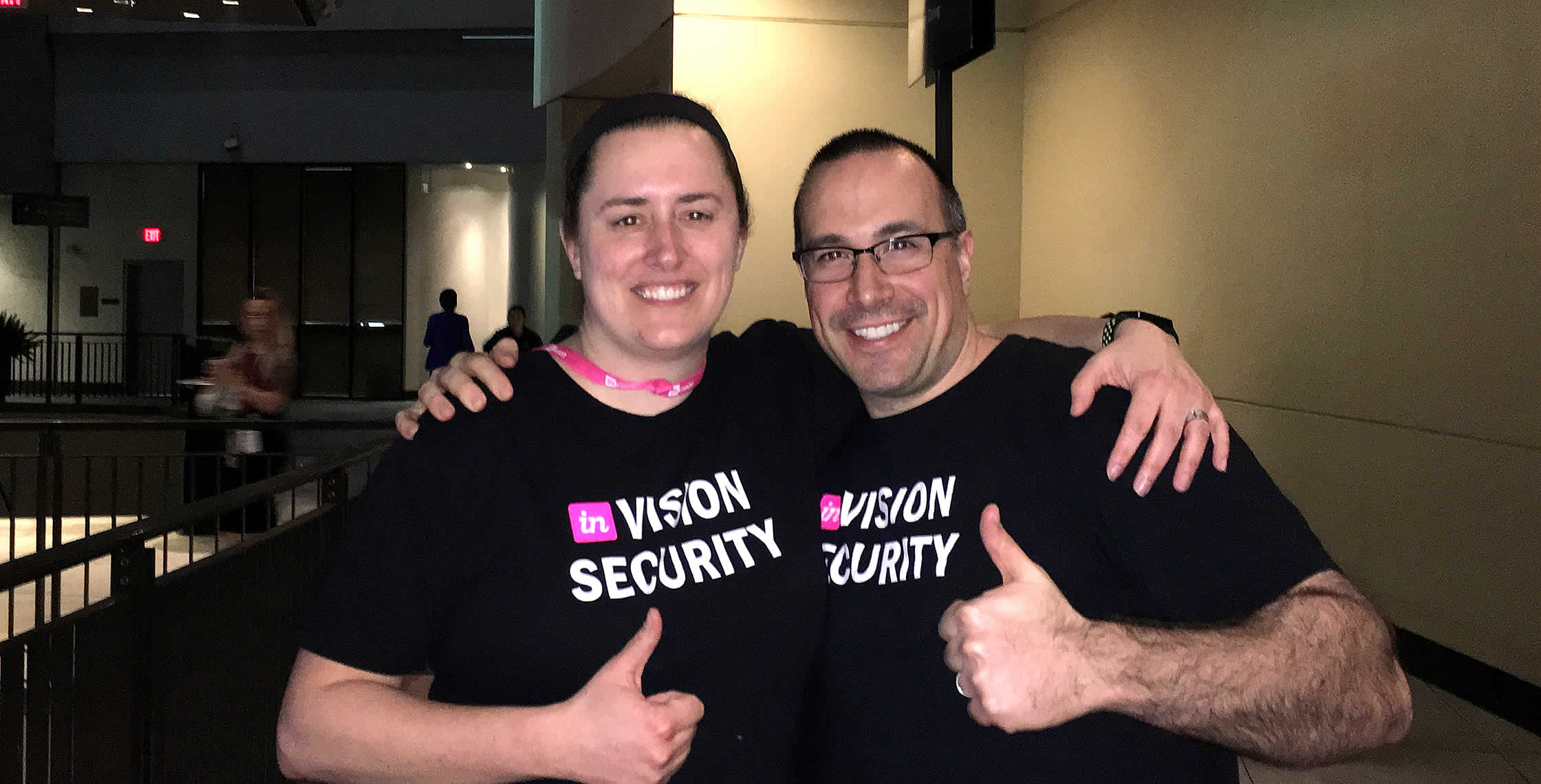 Ben Nadel at InVision In Real Life (IRL) 2018 (Hollywood, CA) with: Sara Dunnack